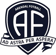 Arendal Fotball klubblogo