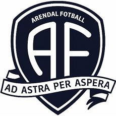 Arendal Fotball logo