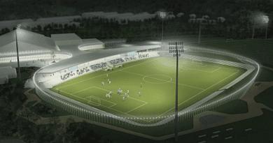 The new Helsingør Stadion