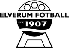 Elverum Fotball klubblogo
