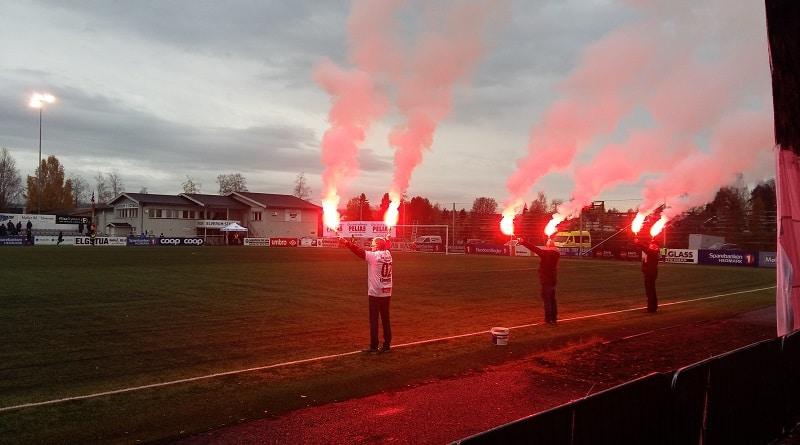 Elverum Stadion tifo