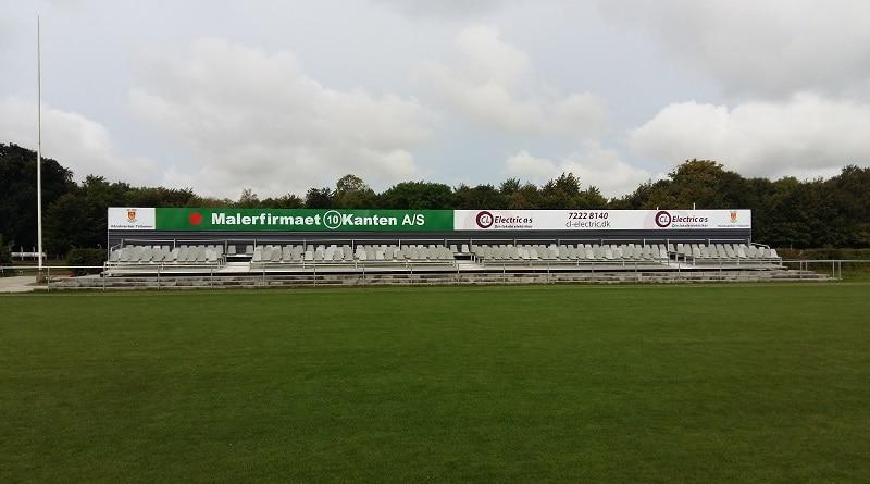 Hillerød Stadion main stand