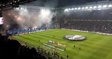 FCK-Atletico Madrid tifo