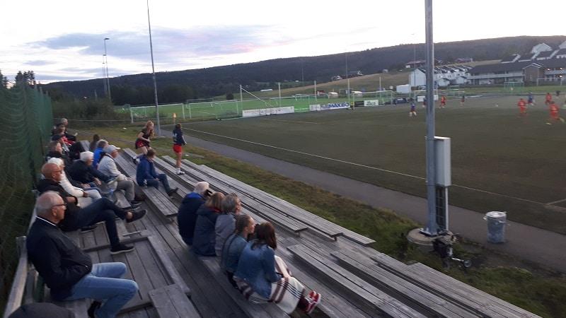Sørumsand Idrettspark tribune- Sørumsand IF