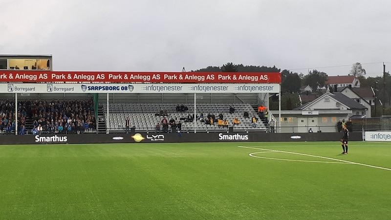 Sarpsborg - Maccabi Tel-Aviv 3-1 awayfans