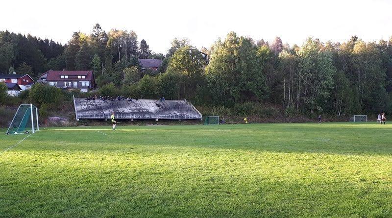 Solbakken Stadion hovedtribune