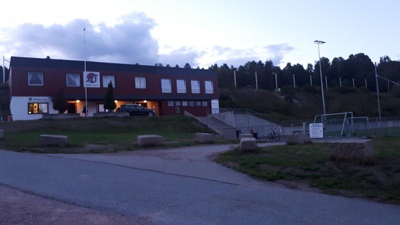 Solbakken Stadion klubbhus Svelvik IF