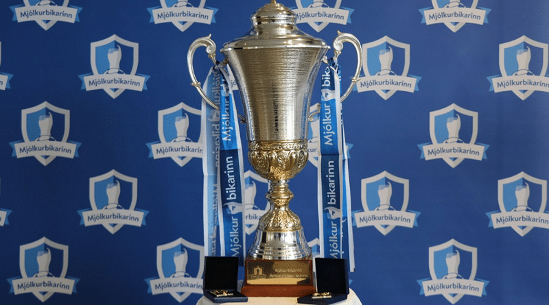 Iceland Cup trophy