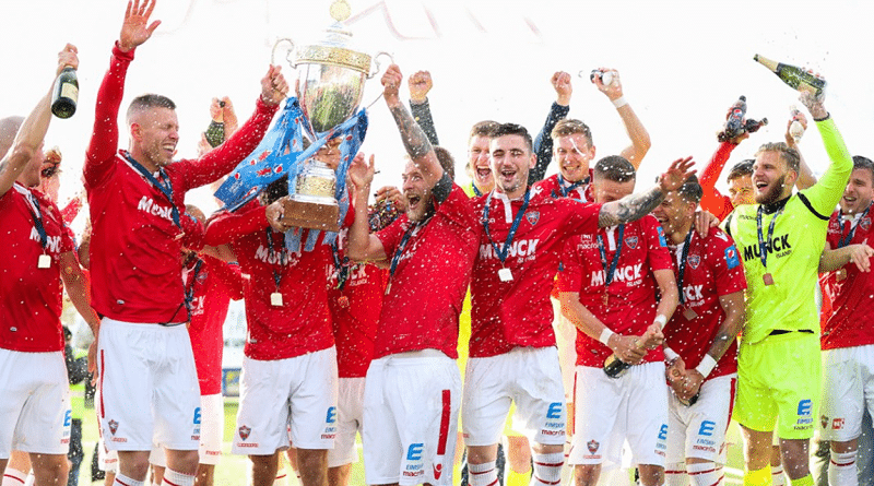 Valur champions of Iceland 2018 Photo: www.ksi.is