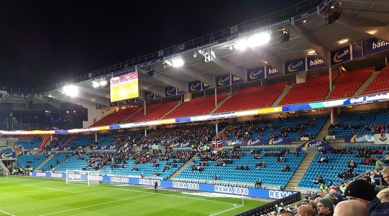Norge-Bulgaria 1-0 2018