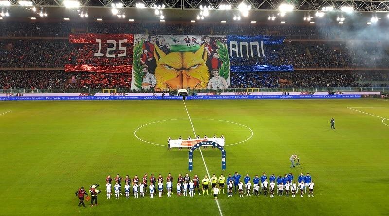 Derby della Lanterna Luigi Ferraris Genoa - Sampdoria 1-1