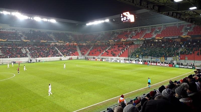 City Arena Trnava Fenerbache fans