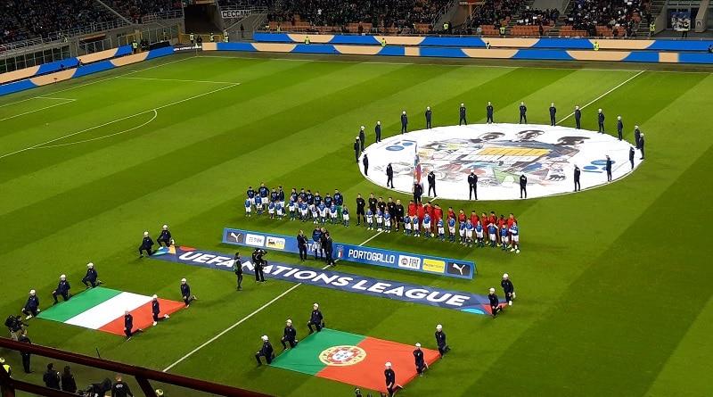 Italia-Portugal 0-0 San Siro