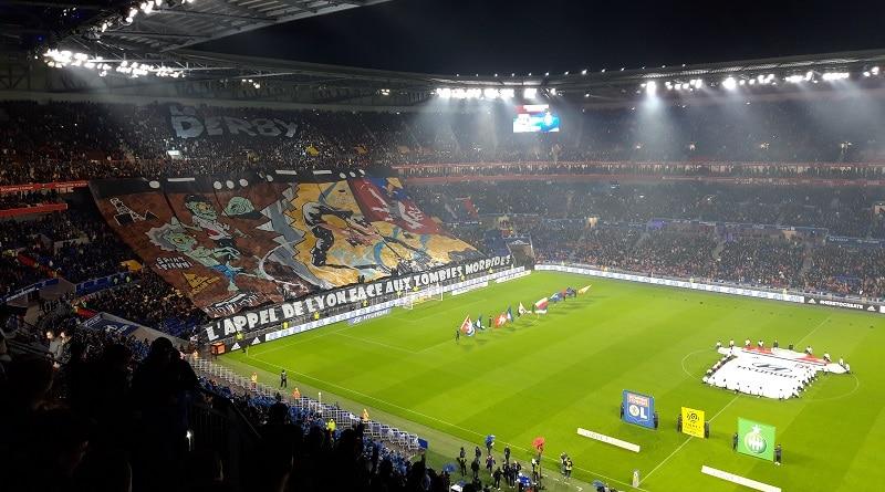 Lyon - Saint -Etienne 1-0 Le Derby