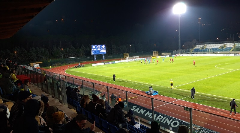 San Marino-Belarus 0-2 Nations League – San Marino Stadium