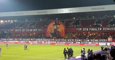 Wiener derby FK Austria Wien - Rapid Wien 6-1 Generali Arena