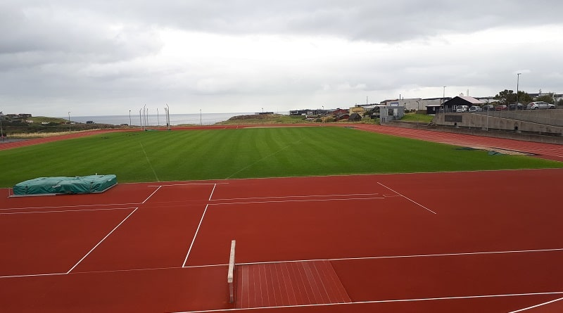 Tórsbreyt Faroe Islands athletics stadium
