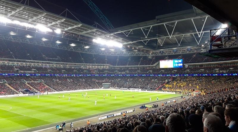Wembley Tottenham - Dortmund 3-0
