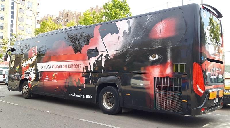 CF La Nucia bus