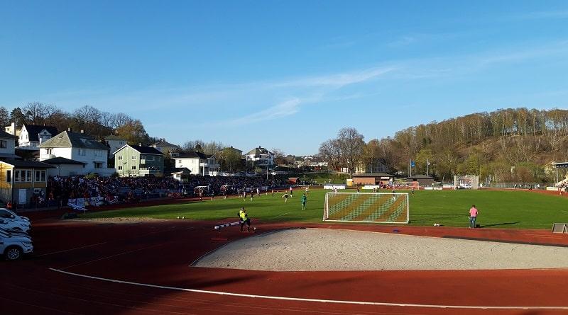 Halden Stadion - Kvik Halden FK - Frerikstad 1-0