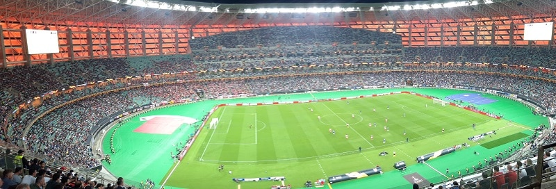 Europa League final 2019 panorama