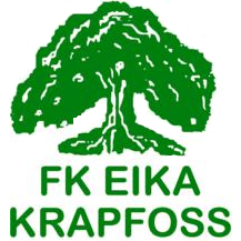 FK Eika Krapfoss logo