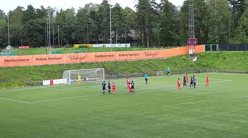 FK Tønsberg - Frigg 2-0 Tønsberg Gressbane Tobias Gran