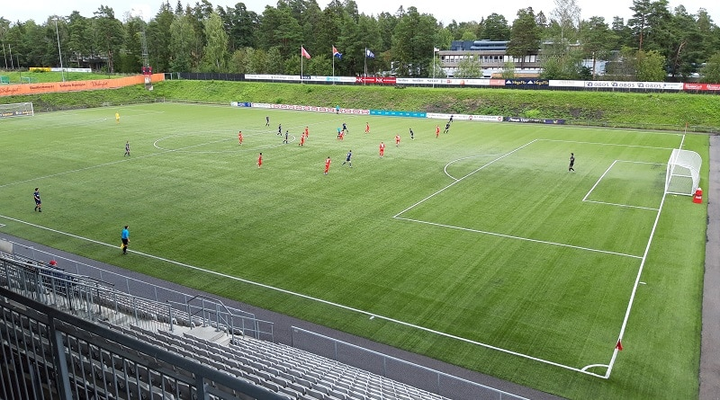 FK Tønsberg - Frigg 2-0 Tøsnberg Gressbane