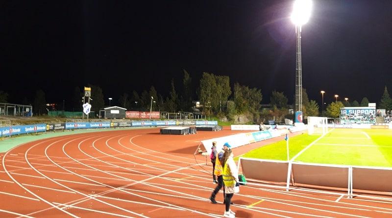 Nadderud Stadion Stabæk - Molde FK 1-2