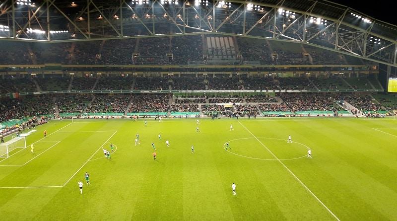 Aviva Stadium Dundalk FC - Shamrock Rovers 1-1