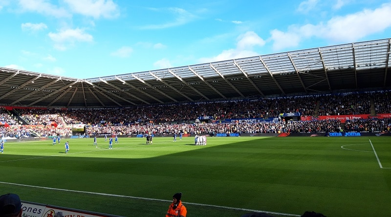South Wales derby Liberty Stadium Swansea