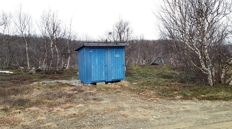 Allaroavvi Stadion toalett