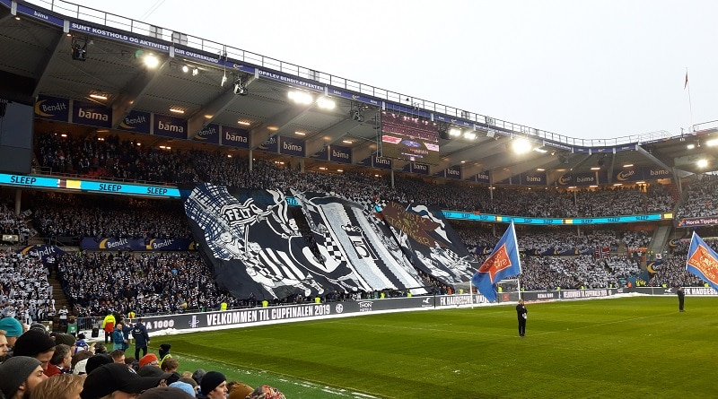 Cupfinalen 2019 Viking tifo