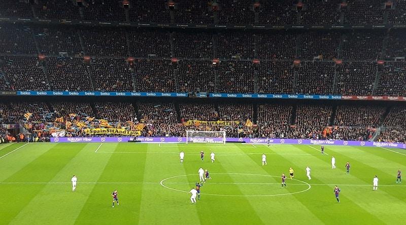 El Clasico Camp Nou