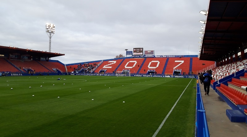 Estadio Francisco de la Hera Extremadura UD