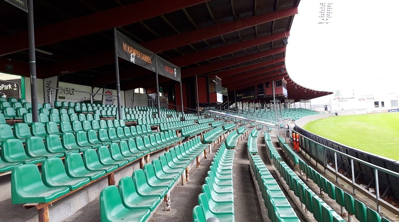 Næstved Stadion hovedtribune
