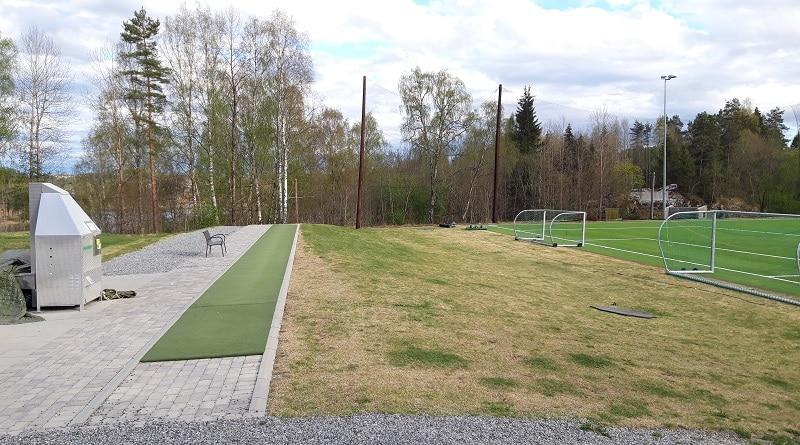 Gjersjøen Stadion driving range