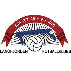 Langfjorden FK logo