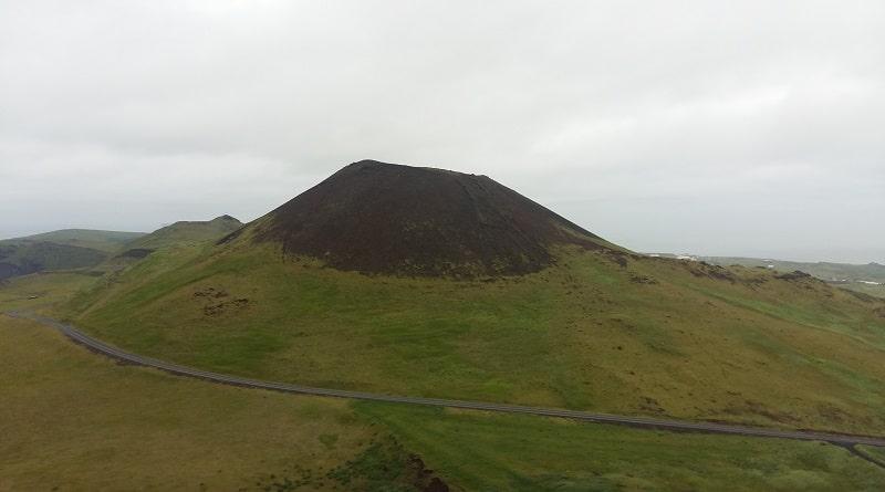 Helgafell volcano Vestmannaeyjar